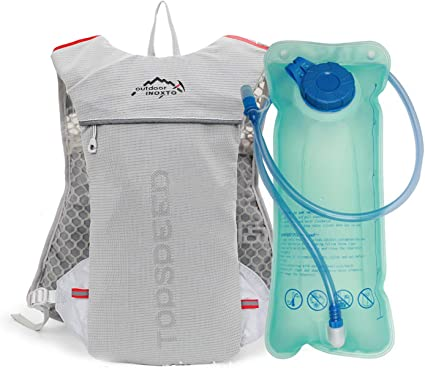 Running Hydration Water Backpack Outdoors Camping Hiking Marathon Vest Pack