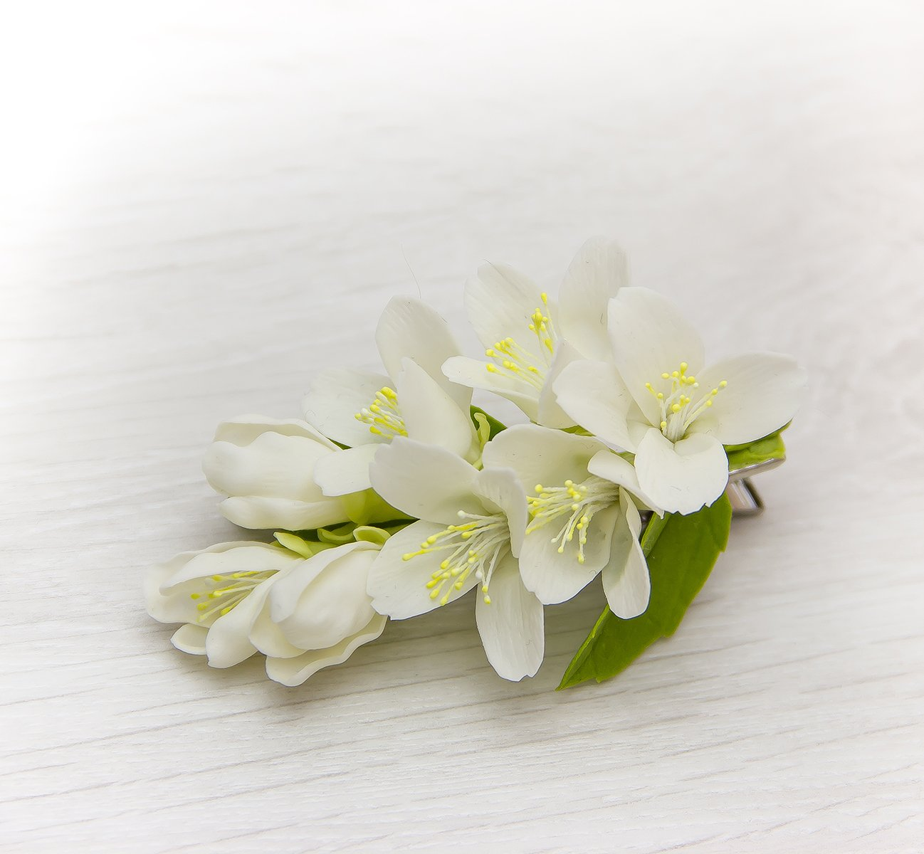 Artificial jasmine flowers for hair image collections flower amazon wedding white hair clip jasmine flower hair clip amazon wedding white hair clip jasmine flower izmirmasajfo