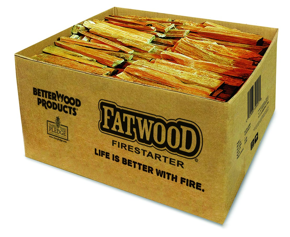 Better Wood Products Fatwood Firestarter Box, 35-Pounds Wood Products International Inc. 9935