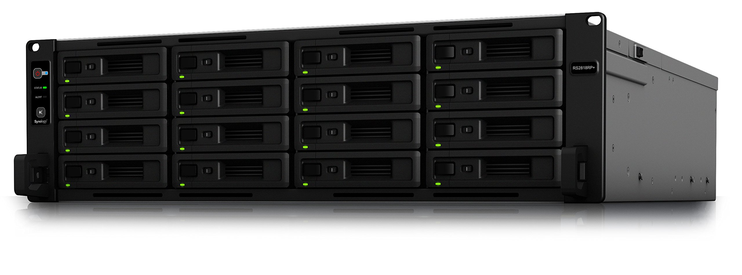 Synology RS2818RP+ 16bay NAS Rack Station (Diskless) by Synology (Image #1)