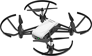 Ryze Tech Tello Boost Combo - Mini Drone Quadcopter UAV for Kids Beginners 5MP Camera HD720 Video 13min Flight Time Education Scratch Programming Toy Selfies Powered by DJI, White