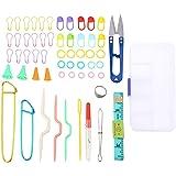 Tricot Kit Complet 63 PCS Tricot Outils Avec Boîte d'Accessoires Pour les Débutants