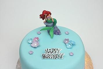 Ariel sirenita disney decoración para tarta para decoración Set: Amazon.es: Hogar
