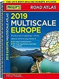 Philip's 2019 Multiscale Road Atlas Europe: (A4 Spiral binding) (Philips Road Atlas)
