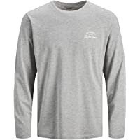 Jack & Jones Jjhero tee LS Crew Neck Camiseta para Hombre