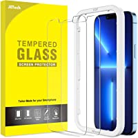 JETech Screen Protector Compatible with iPhone 13 Pro Max 6.7-Inch, Tempered Glass Film with Easy-Installation Tool, 2…