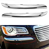 CH1047103 Make Auto Parts Manufacturing Front Passenger Right RH Side Bumper Trim Molding Chrome For Chrysler 300 2011 2012 2013 2014
