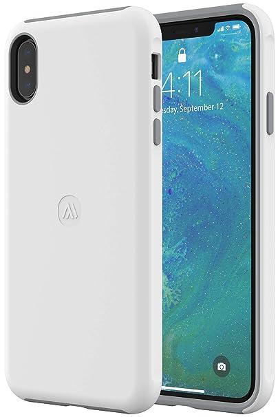 white iphone xs max case