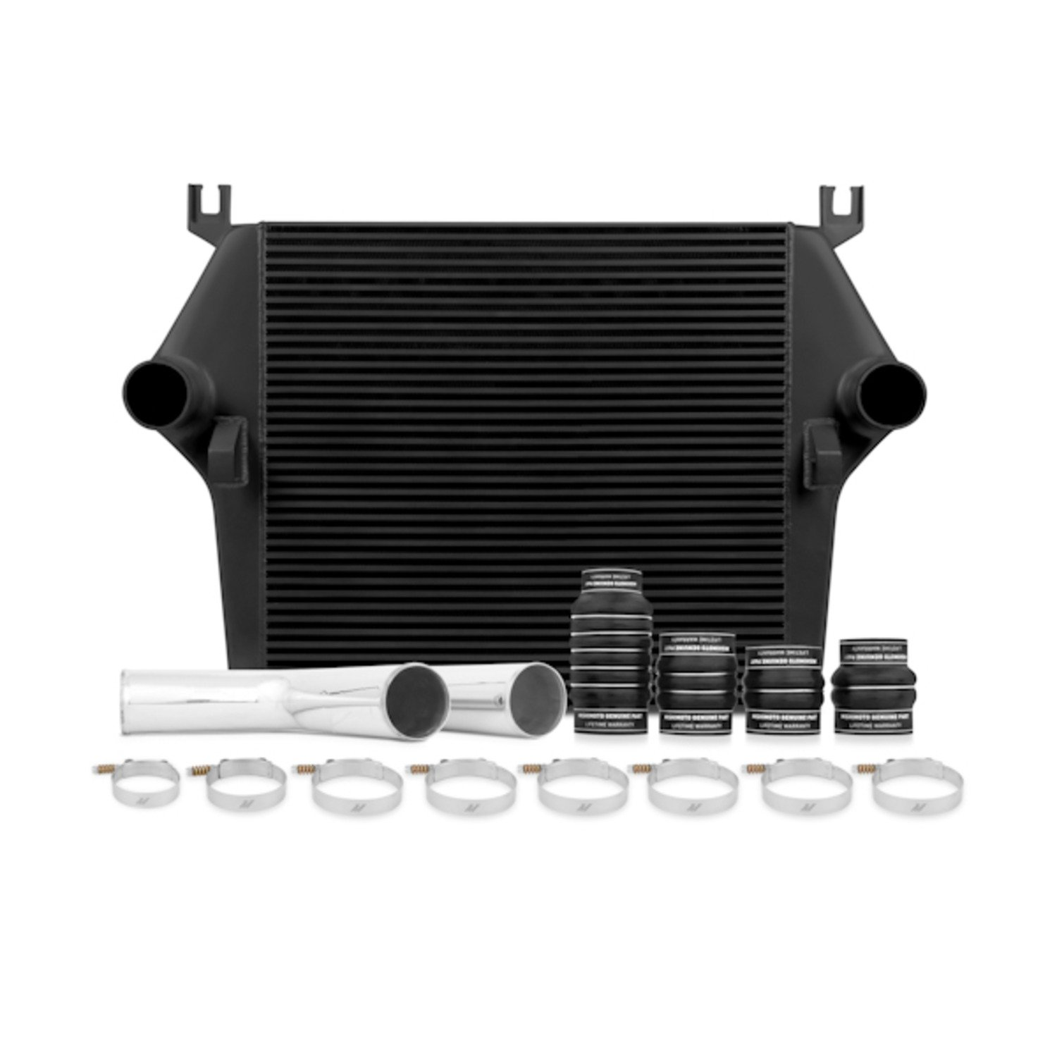 Mishimoto MMINT-RAM-03KBK Dodge 5.9L Cummins Intercooler Kit, 2003-2007, Black