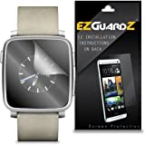 (6-Pack) EZGuardZ Screen Protector for Pebble Time Steel Smartwatch (Ultra Clear)