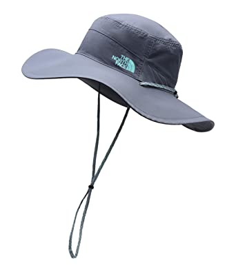 e413eb7f1 The North Face Unisex Women's Horizon Brimmer Hat Grisaille Grey/Mint Blue  SM/MD