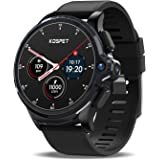 """KOSPET Smart Watch for Men, Face ID Unlock Smartwatch with 1260mAh Battery, 4G LTE with 1.6"""" Full Touch Screen, GPS Android Smartwatch with Dual Camera, Compatible with Android iOS, 3G RAM 32GB ROM"""