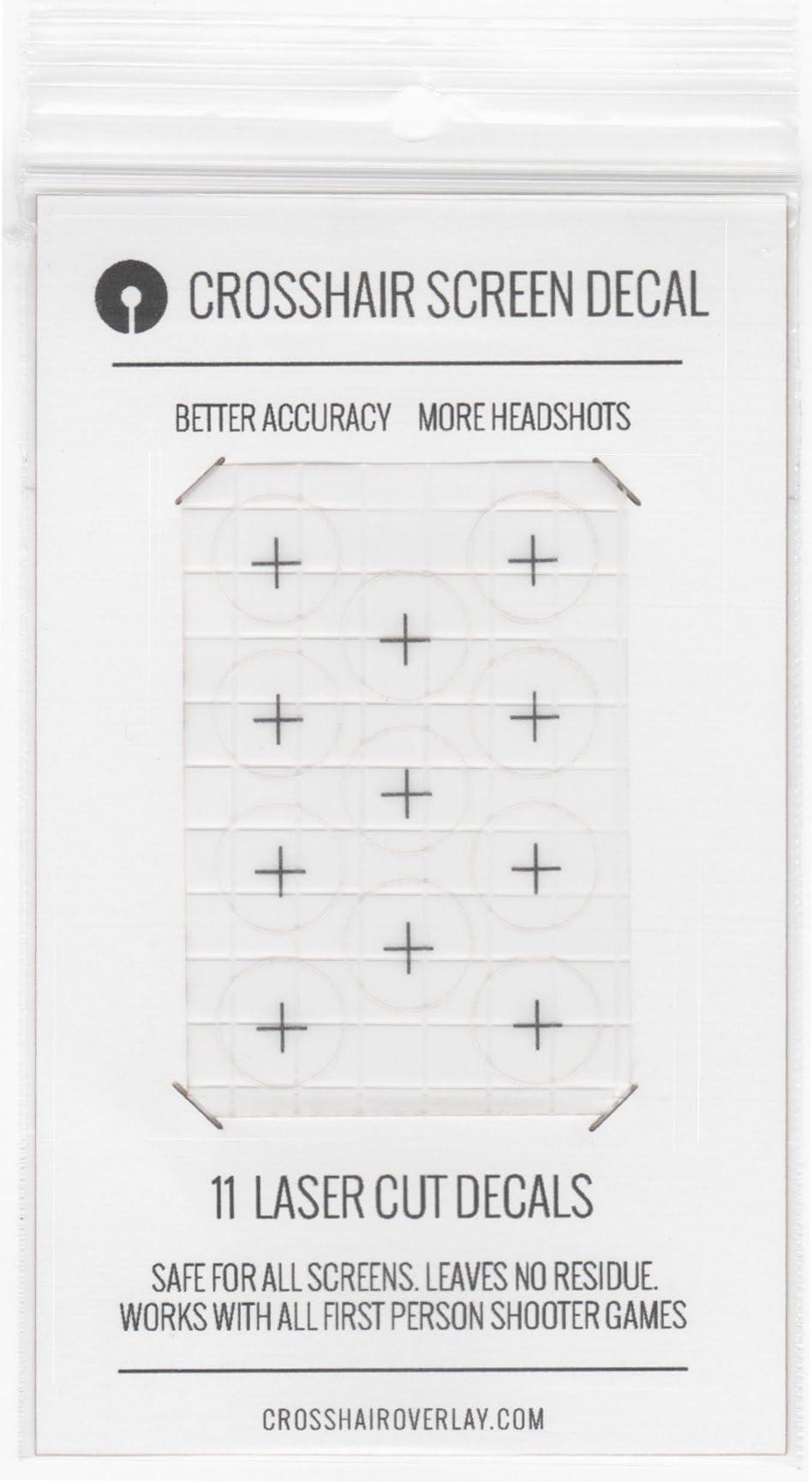 Amazon com: Crosshair Overlay Screen Decals: Video Games