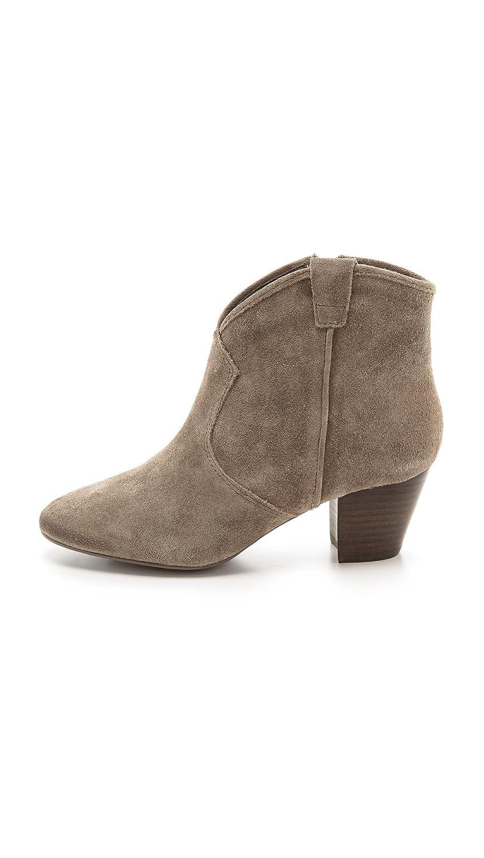 82d6339769b Amazon.com: Ash Women's Spiral Suede Mid Heel Booties, Topo, 38 EU (8.5  B(M) US Women): Shoes