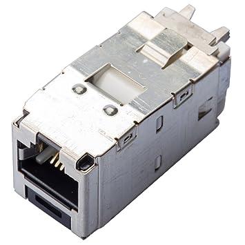 PANDUIT Mini-Jack Buchse Kat6 CJS688TGY RJ45 8: Amazon.de: Elektronik