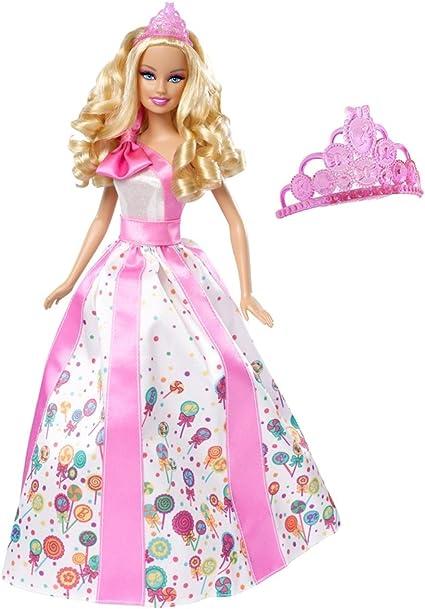 Amazon.com: Barbie Princess Feliz Cumpleaños muñeca: Toys ...
