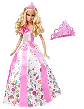 Amazon.es: Barbie Princesa Happy Birthday Muñeca: Juguetes y ...