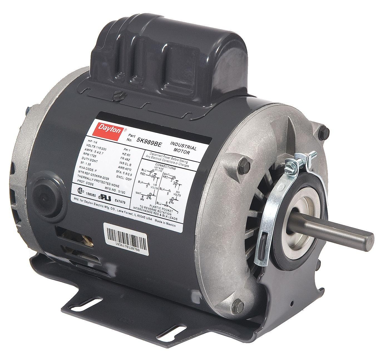 Belt Drive Mtr, CS, ODP, 1/2 HP, 1725 rpm