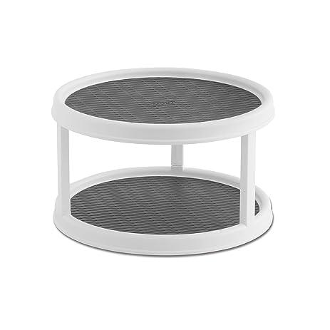 Copco Non Skid 2 Tier Cabinet Turntable, 12 Inch