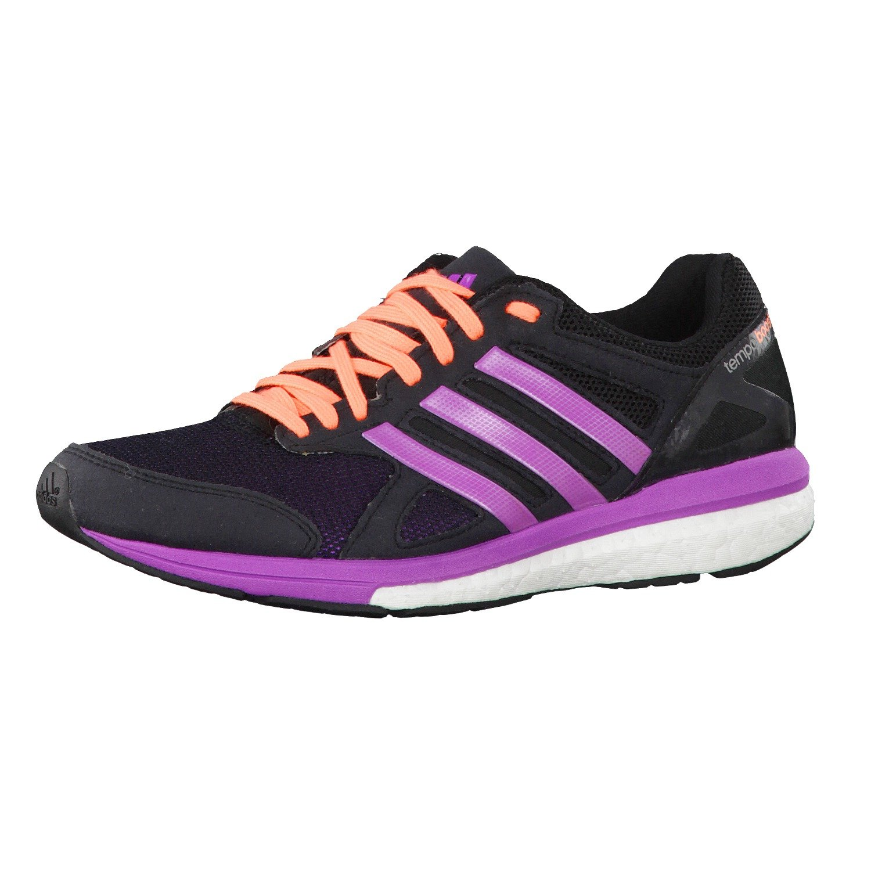 Adidas Damen Laufschuhe adizero Tempo Boost 7 core schwarz flash Rosa s15 flash Rosa s15 45 1 3