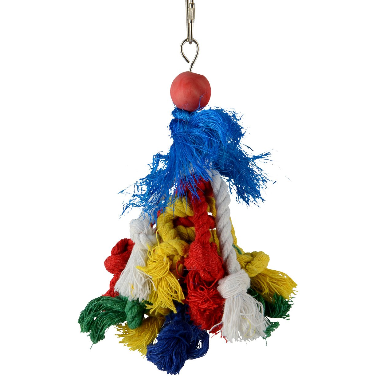 Animal Treasures LBW-0518 Birdie Knotrageous Bird Toys by Animal Treasures (Image #1)