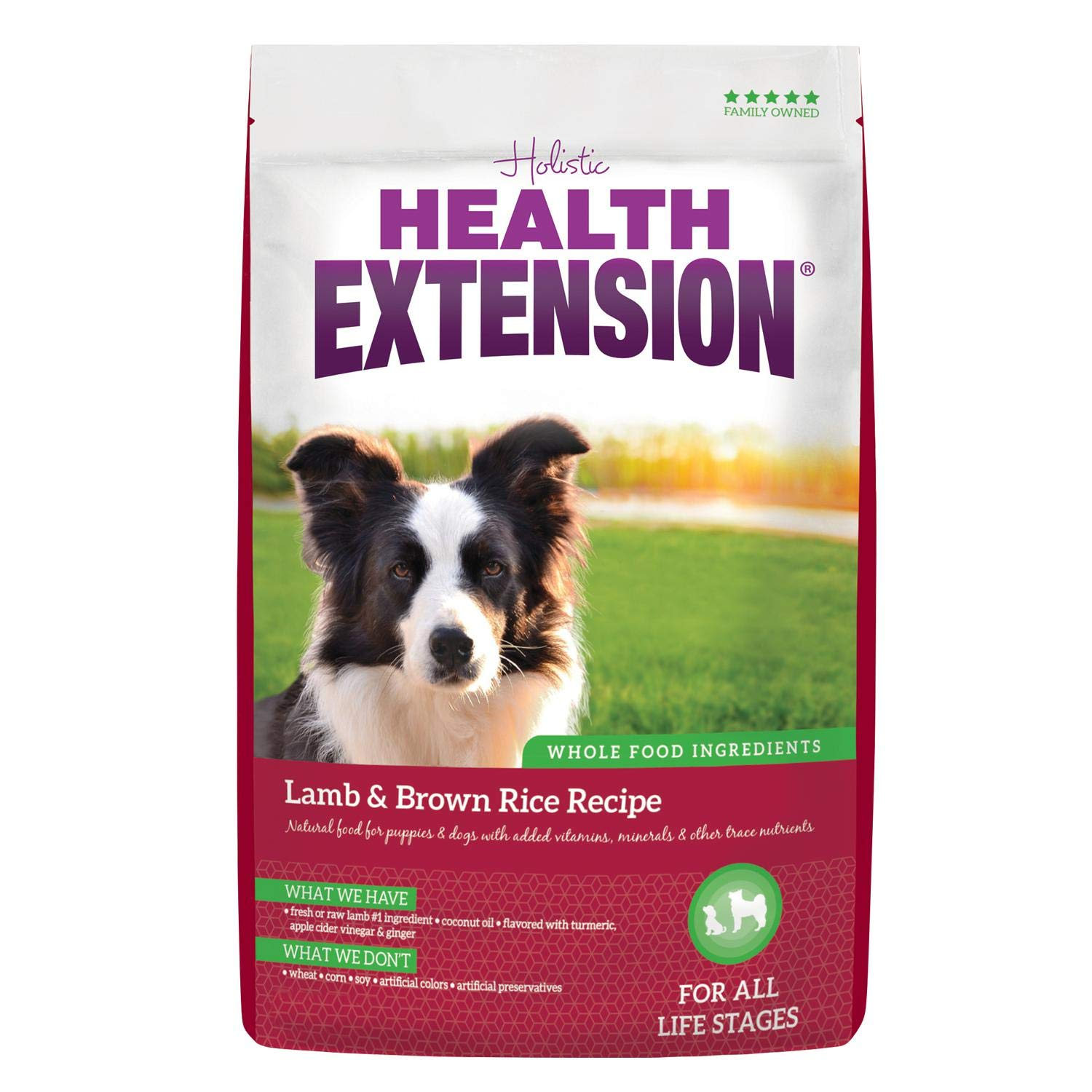 Health Extension Lamb & Brown Rice Recipe, 30-pounds by Health Extension