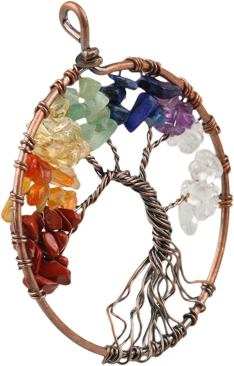 Chakra Keychains copper
