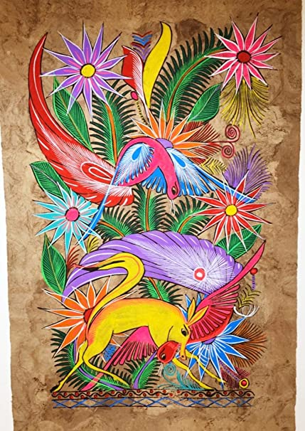 987fb0e447ac0 Amazon.com: Mexican Amate Bark Painting: Paintings