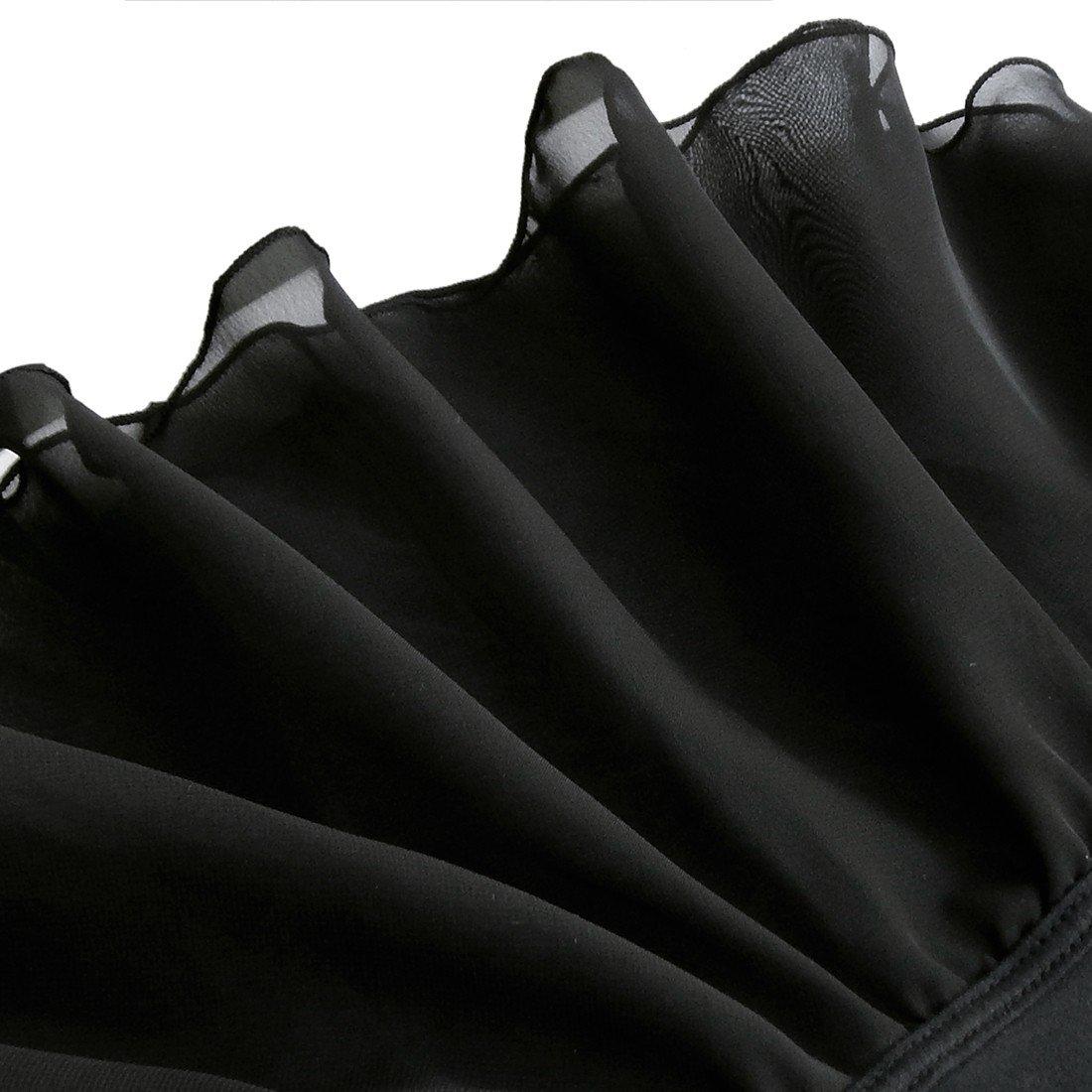 TiaoBug Girls Sleeveless Ballet Dance Dress Leotard Gymnastics Tutu Skirt