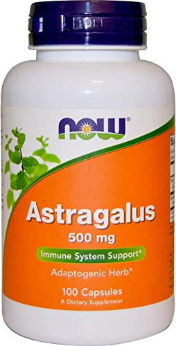 Now Foods Astragalus 500 mg – 100 Caps 3 Pack