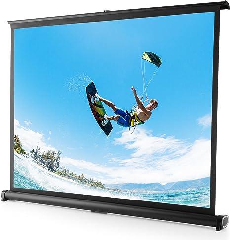 FrontStage TSVS 40 Pantalla proyector 4:3 portátil Plegable 81X62 ...