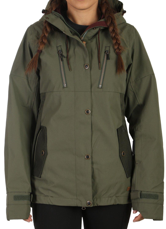 RIDE ライド スノーボード ウェア ジャケット Wallingford Jacket Shell 17-18モデル レディース Wallingford OliveOliveMelange Medium