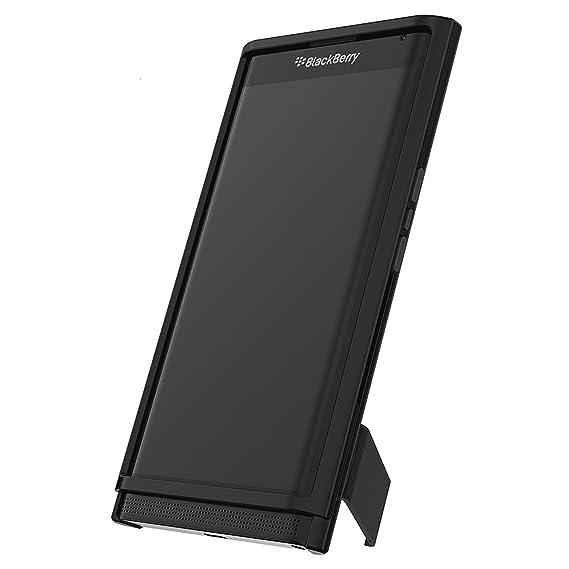 Blackberry Slide Out HardShell Case With Stand For Blackberry Priv - Black  Retail Packaging