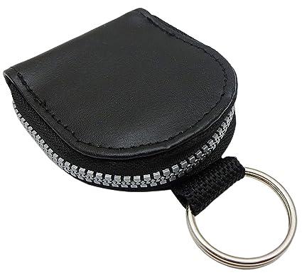 Estuches de llave con compartimento para monedas en negro