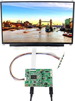 "HDMI VGA LCD eDP Controller Board kit 13.3/"" N133HSE 1920x1080 IPS LED Screen"