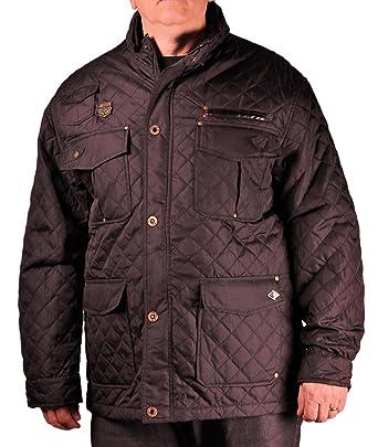 Amazon Enyce Big Mens Quilted Shirt Jacket Clothing