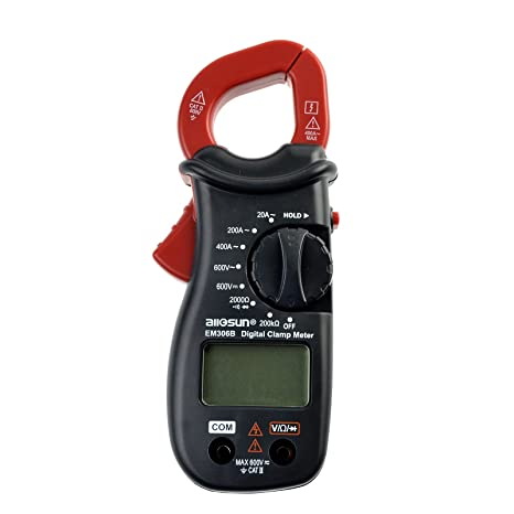 all sun digital clamp meter multimeter with ac dc voltage test rh amazon com Hand Held Saw Hand Held Cross