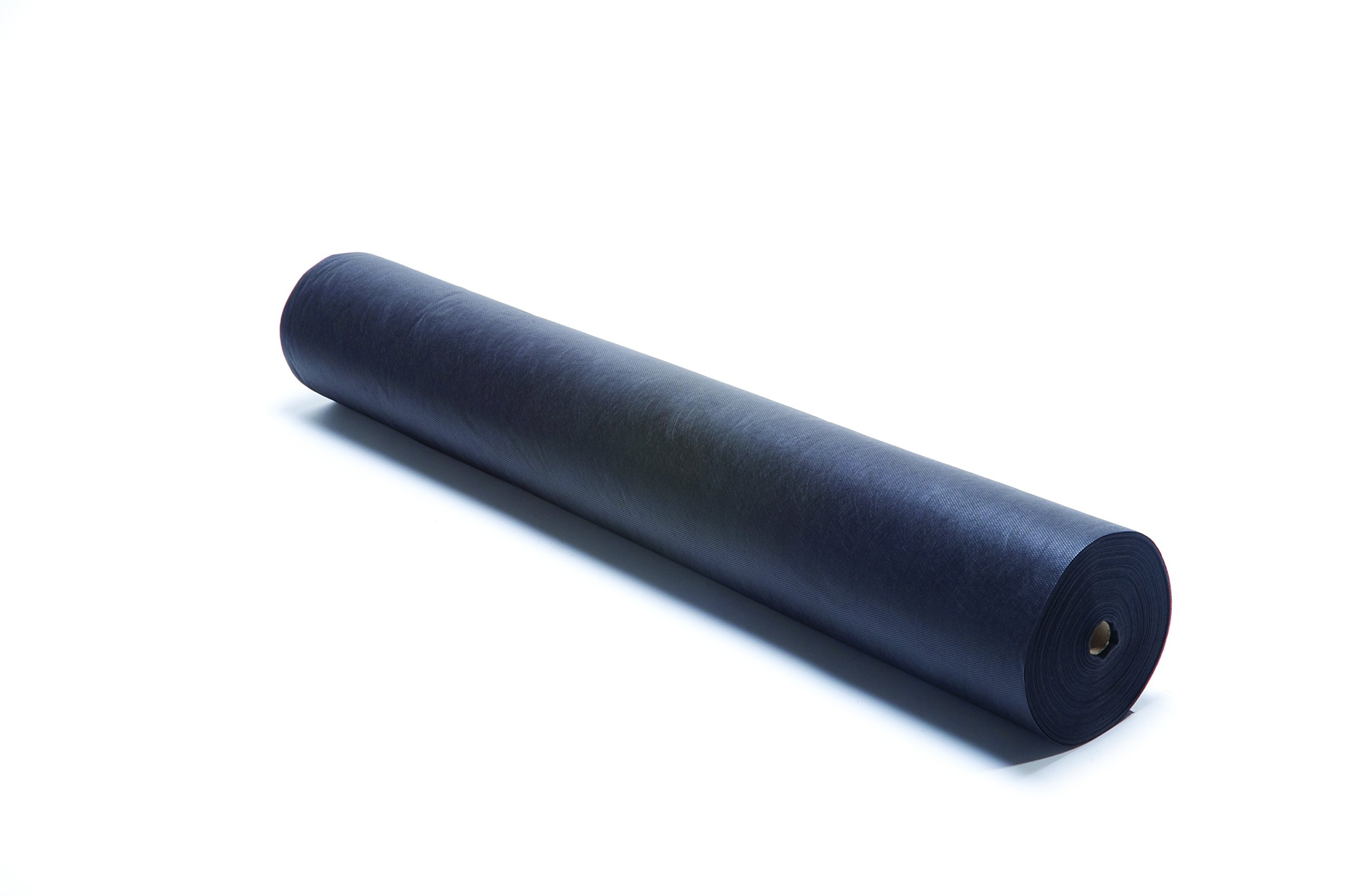 Smart-Fab Craft Fabric Roll,  48'' x 120', Black, Perfect for Schools, Crafts, Art, Bulletin Board, Teacher Classrooms, Outlasts Paper, Won't Fade