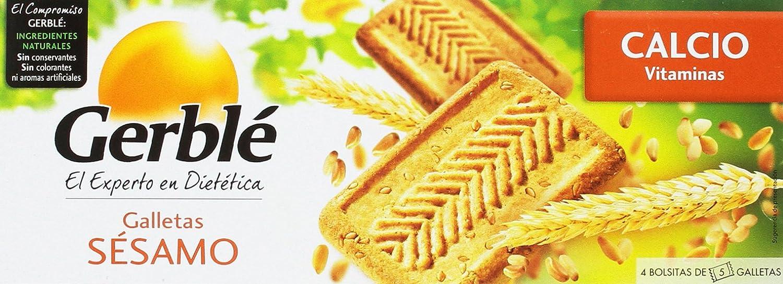 Gerblé - Galletas sésamo - Galletas de cereales - 230 g - [Pack de 4]: Amazon.es: Alimentación y bebidas