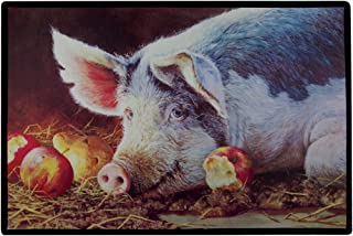 product image for Lady Marmalade Pig Doormat Door Mat Rug Bonnie Marris