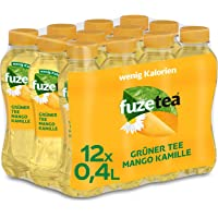 FUZE TEA GREEN MANGO CHAMOMILE 12 x 0,4 liter