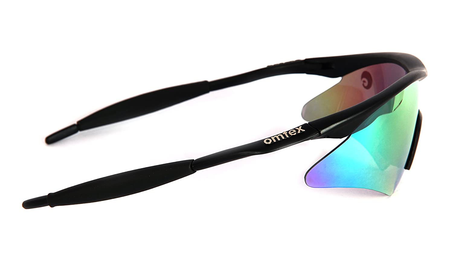 597fe57e21f0 Omtex Prime Rainbow Sports Sunglasses   Goggles with Cover  Amazon.in   Sports