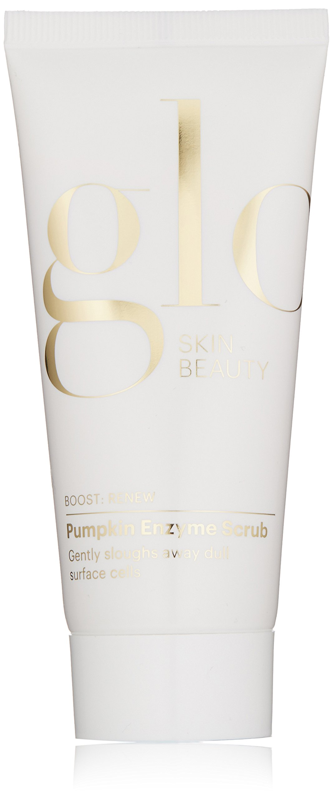 Glo Skin Beauty Pumpkin Enzyme Scrub | Face Exfoliant with Chemical and Physical Exfoliation | Environmentally-Friendly
