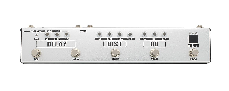 Sonicake Valeton Dapper Pedales multi-efectos y pedales para guitarra eléctrica con fuente de alimentación 4 en 1 / distorsión / efectos de delay: ...