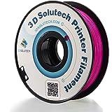 3D Solutech 3D Printer PLA Filament 1.75MM Filament (Purple)