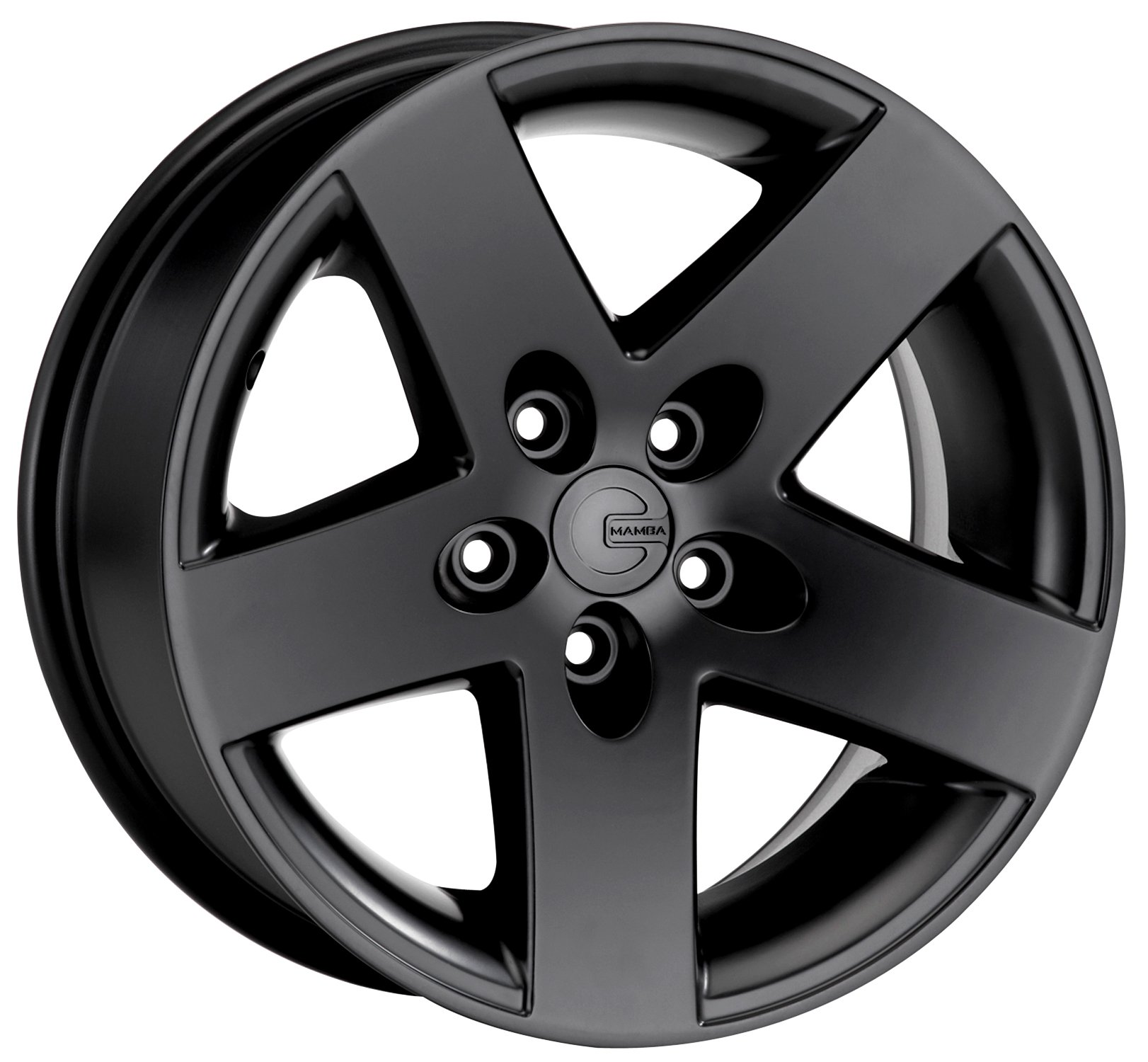 Mamba MR1X Matte Black Wheel (15x8''/5x114.3mm, 0mm offset)