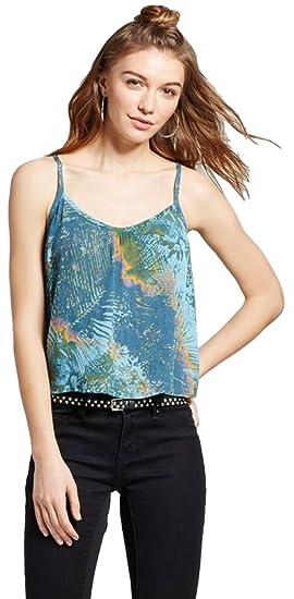7481ddd12b Mossimo Women s Feminine Woven Cami at Amazon Women s Clothing store