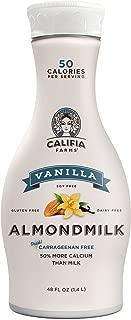 product image for Califia Farms - Almond Milk, Vanilla, 48 Oz, Non Dairy, Plant Based, Nut Milk, Vegan, Non-GMO