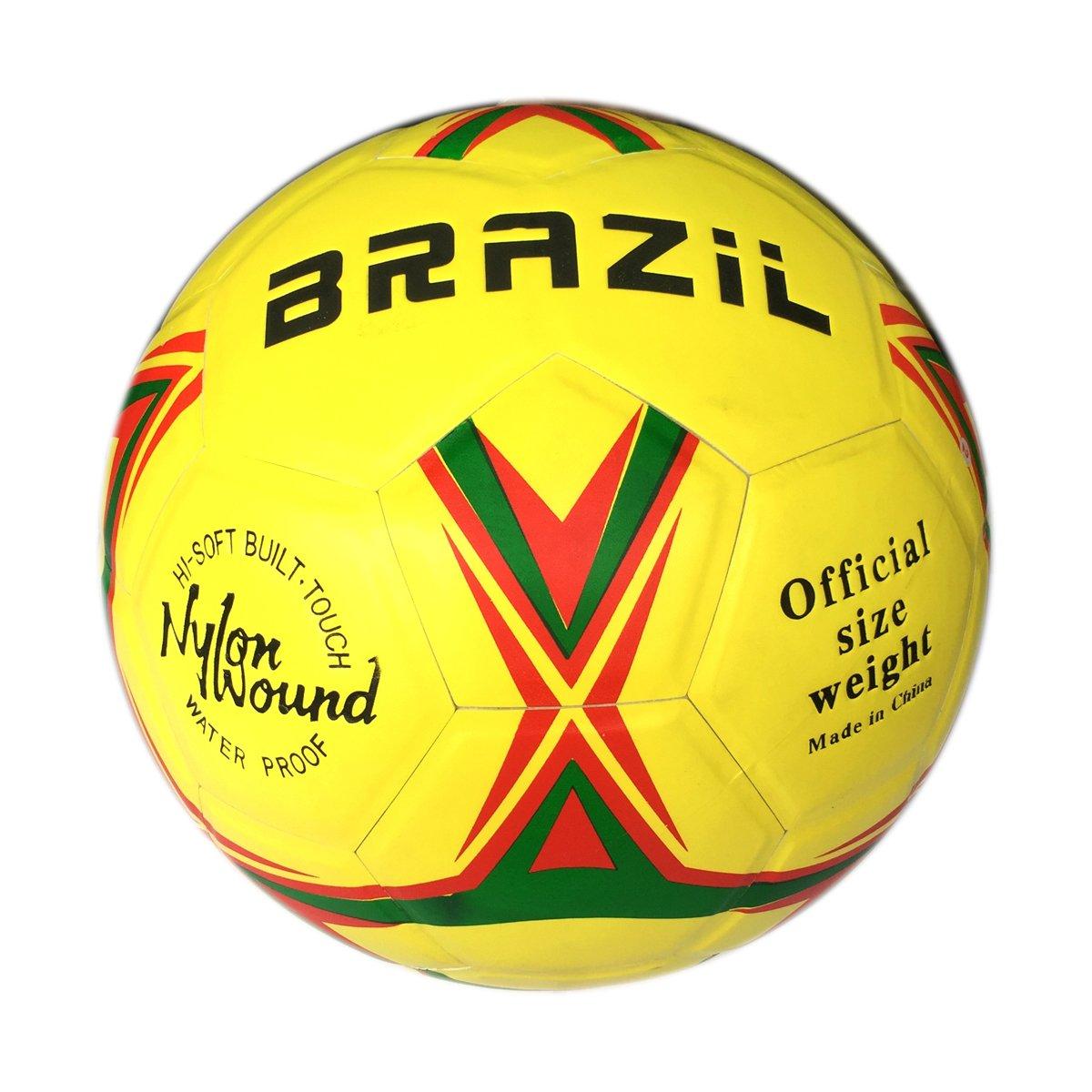Batu Lee TraditionalナイロンWoundブラジルサッカーボールサイズ5 B079R43P68