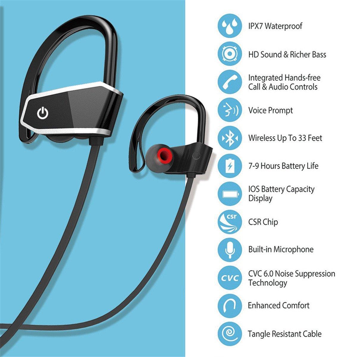 Oferta auriculares Bluetooth Deportivos Voberry